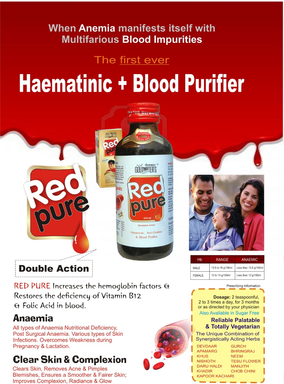RED PURE for Anaemia